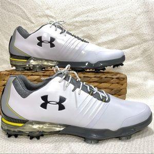 Under Armour Match Play Sz 9.5 Golf Shoes Spikes